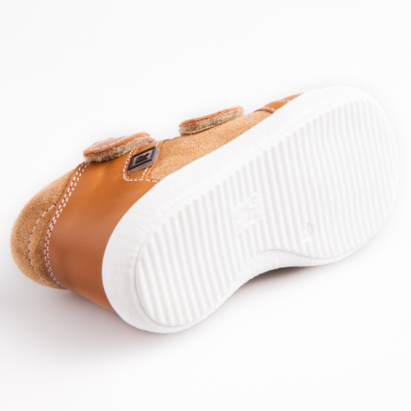 60f689e5805d Detská obuv - topánky hnedé dan - Prezuvky.sk