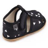 Papuče čierny trojuholník