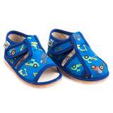 Papuče bager modrý
