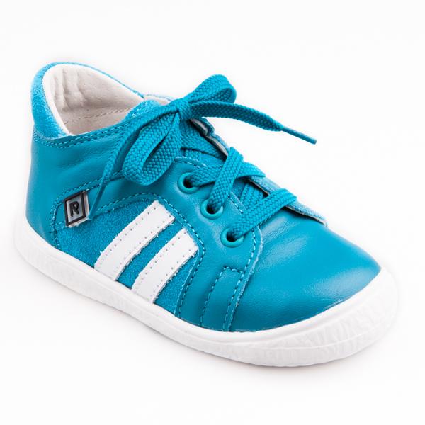 ceb55bf3120 Detská obuv - topánky tyrkysové šnurovacie JAKUB - Prezuvky.sk