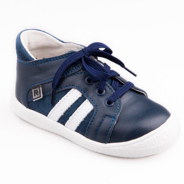 7ba7a1344f Detská obuv - topánky modré šnurovacie - Prezuvky.sk