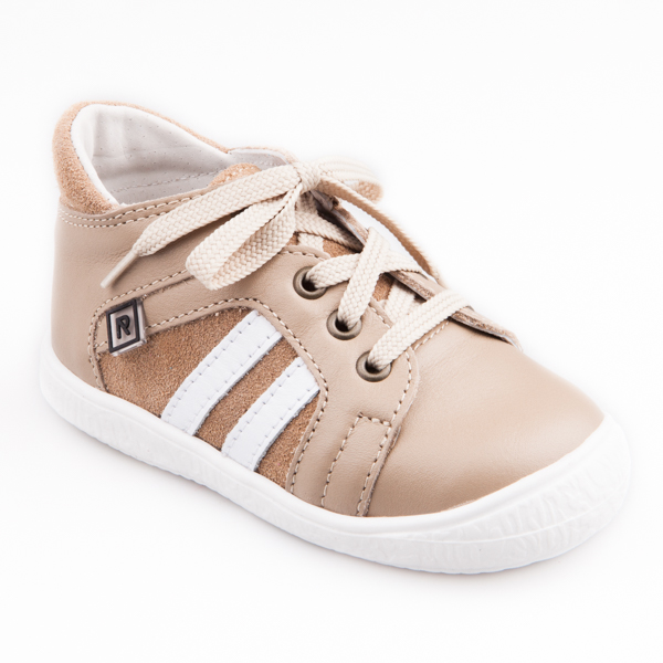896933df9 Detská obuv - topánky béžové šnurovacie - Prezuvky.sk