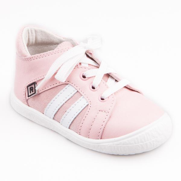 236d167824 Detská obuv - topánky ružové šnurovacie - Stela