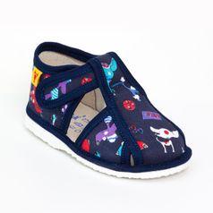Papuče modrý pes