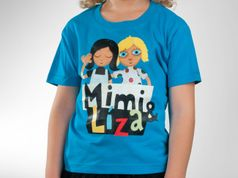 Detské tričko - Mimi & Líza atoll