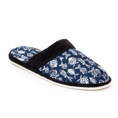 Pánske papuče RYBY MODRÉ