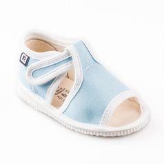 Papuče bledomodré