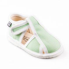 Papuče bledozelené