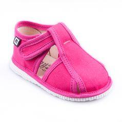Papuče cyklamenové