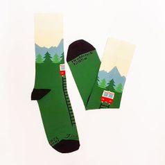 Ponožky unisex - Hrebienok