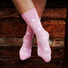 Ponožky unisex - Hviezda zo sídliska