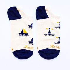 Ponožky unisex kotníkové - Na more členkový