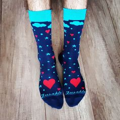 Ponožky unisex - Láska v oblakoch