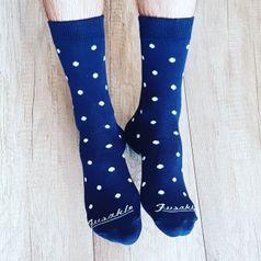 Ponožky unisex - Nebo v noci