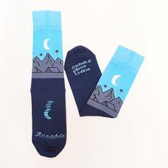 Ponožky unisex - Štrbské pleso