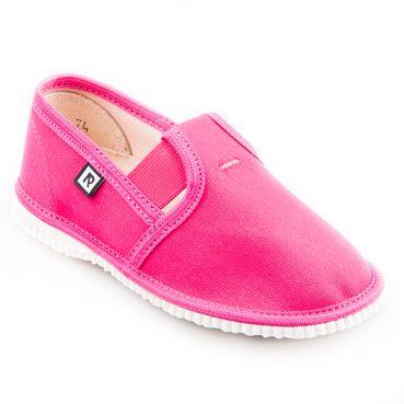 Papuče cyklaménové