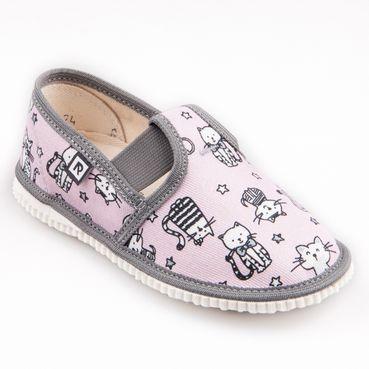 Papuče ružové mačky