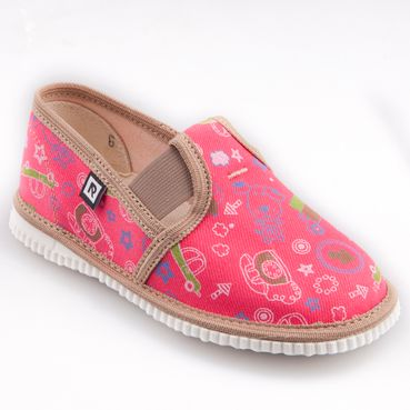 Papuče telefón ružové