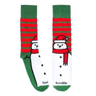 Ponožky - Detský Snehuliak