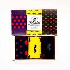 Ponožky unisex - Darčeková krabica Bestseller