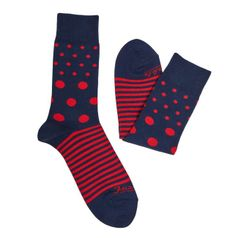 Ponožky unisex - Guľkopásik krvavý