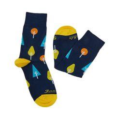 Ponožky unisex - Les jesenný