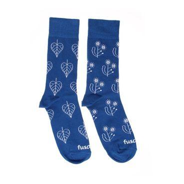 Ponožky unisex - Modrotlač Lipa