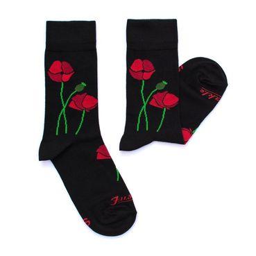 Ponožky unisex - Papaver