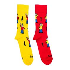 Ponožky unisex - Pat a Mat