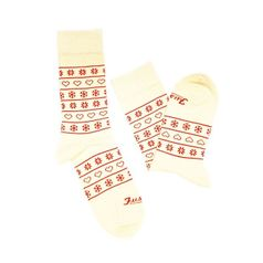 Ponožky unisex - Zima na dedine