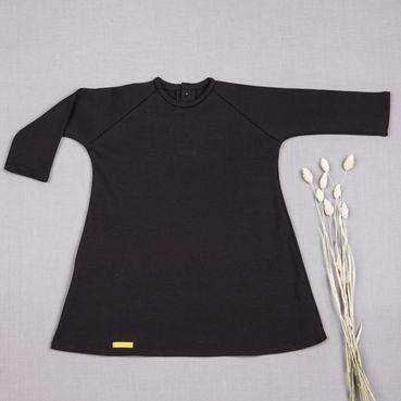 Šaty čierne GOTS