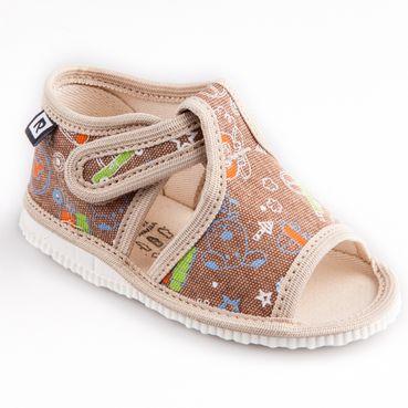 Papuče telefón béžové