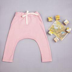 Tepláky ružové - GOTS