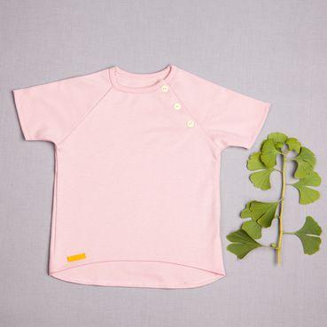 Tričko ružové - GOTS